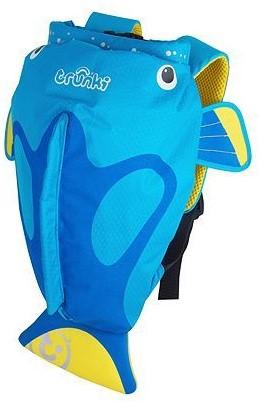 17578b69bad Trunki zwemtas PaddlePak Tang vis blauw Trunki BE