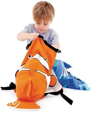 Trunki zwemtas PaddlePak Chuckles vis oranje-3
